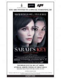PRESS RELEASE: EDGEN FILMS TO HOST PRIVATE SCREENING WEINSTEIN'S FEATURE FILM: SARAH'S KEY